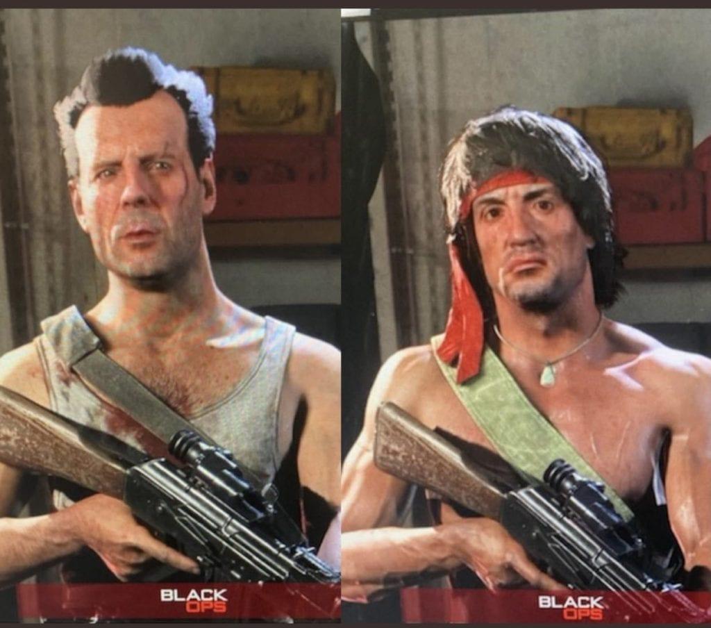 Warzone Johns Rambo McClane